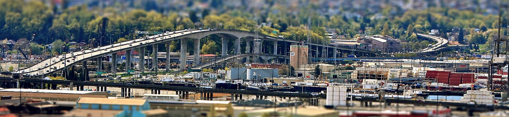 West Seattle Bridge, 2010.